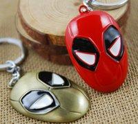 Wholesale Broadmix Marvel Anti Hero Logo Deadpool Keychain