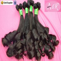 african american hair - African American Human Hair Extensions Aunty Fumi Virgin Brazilian Popular Funmi Human Hair Weave