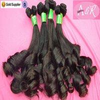 african american hair - African American Human Hair Extensions Virgin Brazilian Popular Funmi Human Hair Weave