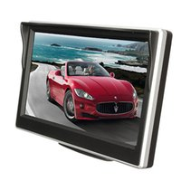 Wholesale HD Car TFT Electronic Screen Inch LCD Car Colorful RearView Monitor Parking Backup Camera DVD with car Brack