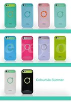 Boy i-glow cases - I Glow Hybrid For iPhone6 Plus S S iPhone5 SamsungS4 Note3 Luminous Noctilucent Ring Stand holder Case Cell Phone Cover