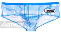 Wholesale New Mens low rise sexy fashion swimwear trunk boxer brief swimsuit Briefs swimwear