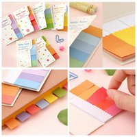 best tagging markers - Best Promotion Mini Lovely Sticker Memo Tags Bookmarks Flags Marker Paper Rainbow Sticky Note Suitable For Office School Gift