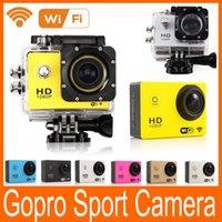 Wholesale Gopro New SJ4000 WIFI Action Sport Camera P Full HD Helmet Underwater Waterproof Video Sports Camera Gopro Style Car DVR
