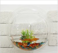 Wholesale wall hanging fish tank Fashion arylic Aquariums with many size for you