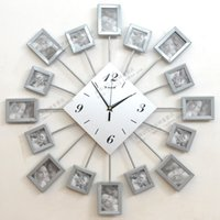 art house furniture - Modern personalized photo digital wall clock fashion antique furniture house art wall clock pocket watch fashion hanging clock