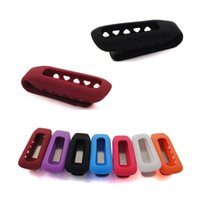 Wholesale Colors Silicon Clasp Clip Holder Case for FITBIT ONE Wireless Activity Tracker
