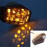 bandit lights - 2x Flush Mount LED Indicators Blinker Lights For Suzuki GSX R Bandit S S S order lt no track
