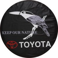 Wholesale Good Quality Vinyl Polyester Fabric Custom Logo Spare Tire Cover Factory Supplier with inch inch inch inch