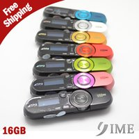 Wholesale Colorful G Mp3 music player FM radio hot sale Digital Screen MP3 Player G with clip