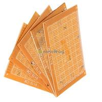 Wholesale 5PCS x15cm Prototype Paper Boards PCB Blank Printed Circuit Board DIY S7NF