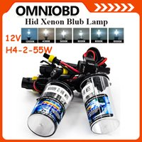 auto hid kits - Hottest Selling V w HID Lamp H4 Xenon kit lamp H4 Car light source Auto Bulbs styling k k k k k k