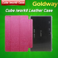 Wholesale Original High quality CUBE iwork8 Tablet Folding Stand Cover Leather Case Hot selling Case For CUBE iwork8 Cube U80GT Case