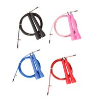 jump rope wholesale - 1PC M Jump Skipping Rope Cable Steel Adjustable Speed ABS Handle Jump Rope for Mastering Crossfit Training Sports Exercises Y0105