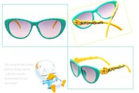 big cute sunglasses - Sunglasses For Babys Children Boys And Girls Cute Little Duck Toad Star Model Lovely Decoration Big Box Personality