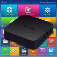 Wholesale 5 MXQ TV Box Amlogic S805 Quad Core Android Kitkat K GB GB XBMC fully Loaded WIFI Airplay Miracast