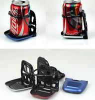 Wholesale Car Truck Drink Beverage Cup Can Bracket Holder Foldable Stand Mount black sliver red Blue