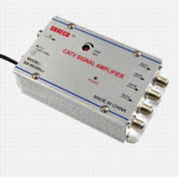 antenna signal splitter - 4 Way TV VCR Antenna Signal Amplifier Booster Splitter booster amplifier booster antenna booster antenna