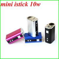 Wholesale 2015 mini istick w kit LED Screen MOD e cigarette iStick mini w box mod mah battery W mod mechanical mod colors
