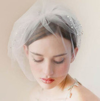 beads types - Bride Veil Comb Blusher Birdcage Beads Bridal Veil Wedding Bridal Hair Accessories
