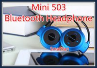 Wholesale Mini503 Sport Bluetooth Speaker Headset Wireless Headphones mini Hifi Music Player For iPhone Plus S6 edge S5 S4 s3 Note S