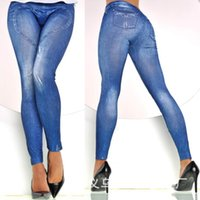 Wholesale Jean women Ripped Stretchy Jeans Heart Denim Leggings Slimming Pesca High Waist Pants Leg Calcas Femininas Jeggings LG1503