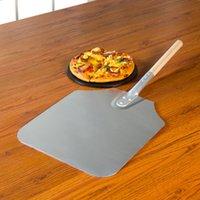 aluminum pizza peel - Update International APP Aluminum Pizza Peels with Wood Handle