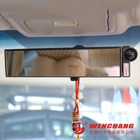 auto dimming mirrors - Hot big vision mirror curved white YCL B dimming interior rearview mirror mirror auto supplies