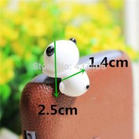 Wholesale 1PC Mobile Phone Panda Anti Dust Plug Earphone Dustproof mm Cover Stopper Cap