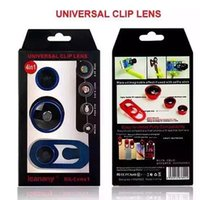 Wholesale Universal Clip X Super Wide Angle Selfie Mobile Lens For iPhone Plus S S HTC Samsung LG Most Phones Tablets