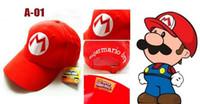 Costume Accessories best funny costumes - Super Mario Bro Anime Mario Cap Cosplay New Best Gift super mario hat cotton