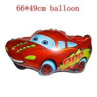 Wholesale 1pc cm Car cChildren Thick Cartoon Balloon Wedding Birthday Party Balloons Christmas Gift Children Toy