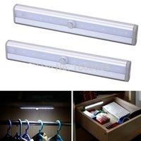 bedside lighting ideas - Body sensors unpled saving ideas led night light bedside lamps Wall Wardrobe Light Rechargeable Battery