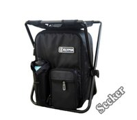 Cheap Wholesale-Free Shipping Travel Bag Portable Folding Chair Backpacks Camping Stool Picnic BBQ Beach chair with Bag
