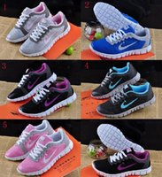 Wholesale 5 color women men Classi Running Shoes Gauze Breathable Ultra Light Sneaker Sport Shoes