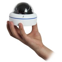 Wholesale DHL MP HD P Mini Network IR Cut Dome IP Camera Vandalproof Night Vision P2P H Indoor ONVIF IPCC D10 F1104B
