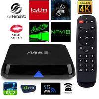Cheap M8S TV Box Amlogic S812 Quad Core 2GB 8GB XBMC Android 4.4 Miracast DLNA Receiver Bluetooth Wifi 4k Kodi Digital Converter Box