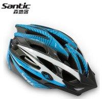Wholesale Santic sen packing case unibody mountain bike riding helmet helmet cycling equipment for men and women