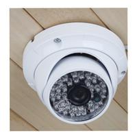 al por mayor cámaras de seguridad al aire libre de interior-4pcs / lot gran angular de vigilancia de interior de seguridad cámara 48LED IR-CUT IR color CMOS al aire libre 1200TVL CCTV fábrica directa