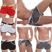 Wholesale New Arrivals Men s Active Underpants Boxers Panties Underwear Lacing Polyester Colors M XXL EC44