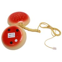 Wholesale Telephone Mobile Juno Hamburger Cheeseburger Fun Burger Voice Telephone Home Desktop Corded Phone PA679909
