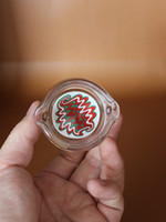 ashtray - 2015 new colorful cm men s pattern oil ring ashtray glass ashtray dish for Multiple uses