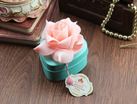 Wholesale 2015 beautiful European roses Blue love candy box Sweet heart box wedding supplies in stock