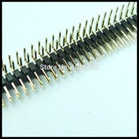 angle plug headers - A mm p Pin Male Header Dual Row Right Angle Type Connector