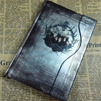 Wholesale harry potter notebook vintage hardcover magic magnetic buckle day planner stationary calendar
