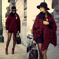 Wholesale ZA A new classic red and black plaid cashmere scarf British Institute of wind and big red and black scarf shawl