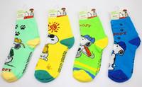 Wholesale Snoopy Socks Unisex cotton printed socks Snoopy D socks christmas Halloween gift fashion Boot socks TW33
