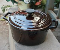 Wholesale enamel pot cast iron pot sauce soup pot