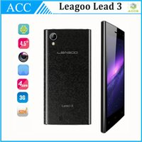 Wholesale Leagoo Lead Lead3 quot G Smartphone WCDMA IPS QHD MTK6582 Quad Core GHz Android RAM GB ROM MP Dual SIM Mobile Cell Phone