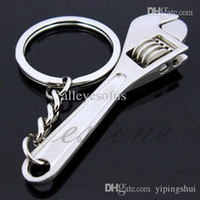adjustable spanner tool - B86 quot Creative Mini Metal Adjustable Tool Wrench Spanner Key Chain Ring Keyring Gift